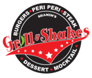 Grill and Shakes Poplar Logo